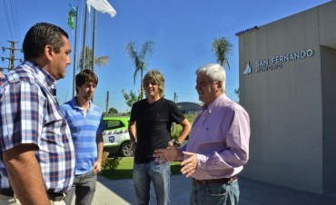 Andreotti anunció la construcción de la nueva posta policial N°6 en Av. Avellaneda y Acceso