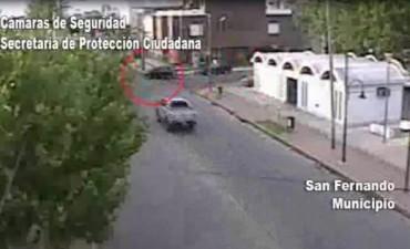 San Fernando: intentan escapar en un auto robado y son detenidos