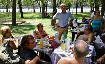 Más de 2000 abuelos y 150 chicos discapacitados disfrutan de las Colonias de San Fernando