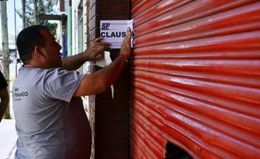 El Municipio clausuró un bar por no cumplir con la documentación y las condiciones sanitarias
