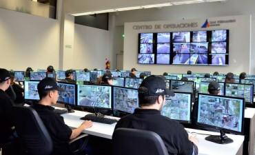 Nuevos rollos de fibra óptica y cámaras de seguridad en San Fernando