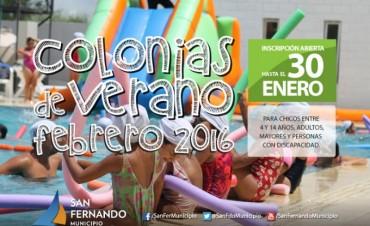 Ya están abiertas las inscripciones para Colonias de Verano 2016 del mes de febrero