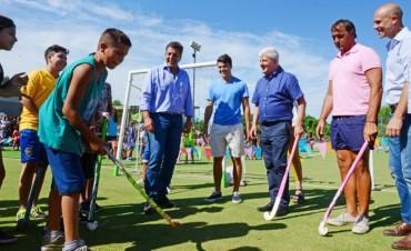 Luis Andreotti inauguró el Polideportivo N°7 de San Fernando