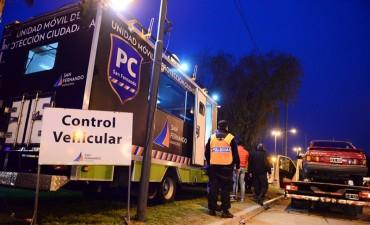 Continúan los operativos de intercepción vehicular en todo San Fernando