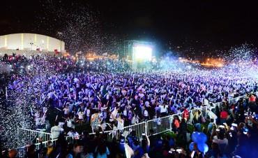 Andreotti participó de un inolvidable cierre de Colonias en San Fernando