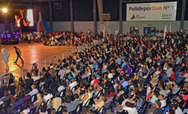Más de 1500 chicos del 'Poli 1' de San Fernando cerraron sus colonias de enero