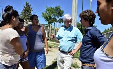 Luis Andreotti supervisó el avance del Plan de Urbanización del barrio San Jorge