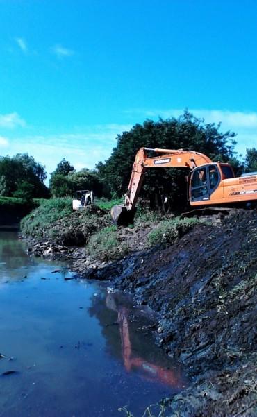 Tigre continúa con el saneamiento del arroyo Las Tunas