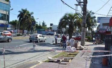 Reconstrucción de veredas y mejora del espacio público en General Pacheco