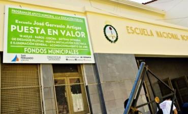 La  Escuela N° 40 J. G. Artigas iniciará las clases con nuevas instalaciones