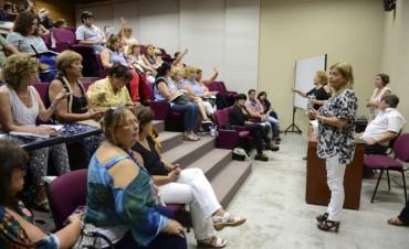 Jornada de trabajo convocó a todos los Directivos de escuelas de San Fernando