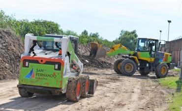El Municipio realiza a nueva la carpeta asfáltica de la calle Maipú