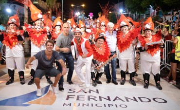 Arrancó el Gran Corso de San Fernando, con deslumbrante cierre de Unión Sanfernandina