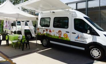 San Fernando realiza un programa de control de salud para los niños que asisten a las Colonias