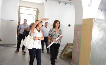 Avanzan rápidamente las obras de la Escuela N°1 de San Fernando