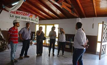 Las obras de refacción de la Escuela 3 de San Fernando siguen adelante