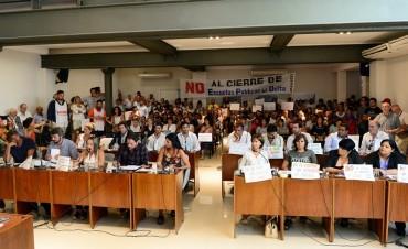 El HCD de San Fernando repudió el cierre de Escuelas Provinciales en el Delta