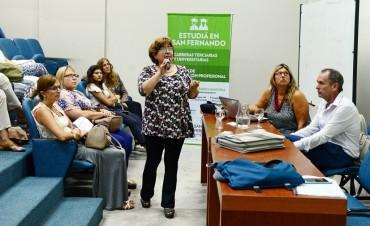 San Fernando capacitó al personal de los Centros de Salud de islas para los controles en escuelas