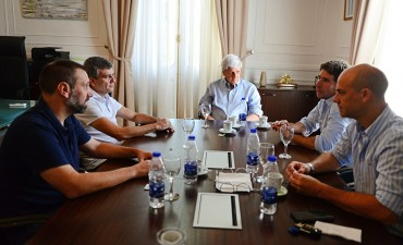 Luis Andreotti recibió a Juan Zabaleta, Intendente de Hurlingham