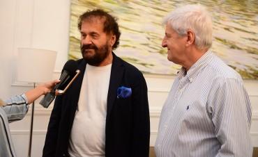 Andreotti se reunió con Eugenio Sangregorio, candidato a Diputado italiano