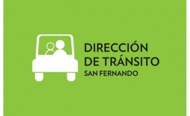 La Dirección de Tránsito de San Fernando brinda consejos para contratar el Transporte Escolar