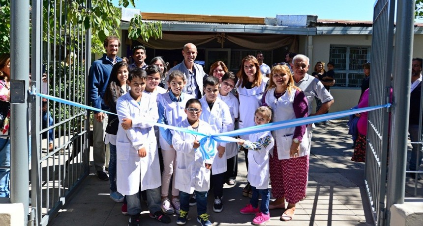 San Fernando inauguró la quinta escuela renovada por el Municipio, la EPB N° 3