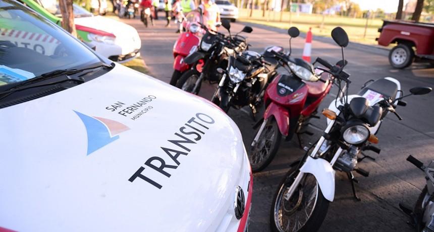 Se realizan operativos de intercepción vehicular en todo San Fernando