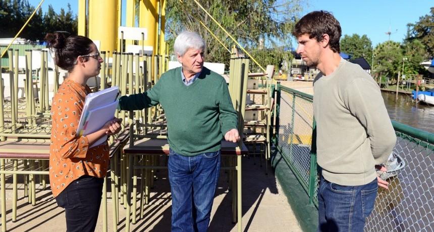 San Fernando envió mobiliario escolar nuevo para las escuelas del Delta
