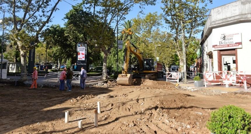 San Fernando renueva las calles Belgrano, 3 de Febrero y Lavalle