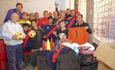 El Municipio y los vecinos trabajan juntos en la recuperación del Club Amor y Corazón