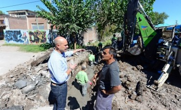 El Municipio realiza trabajos hidráulicos en el barrio Crisol