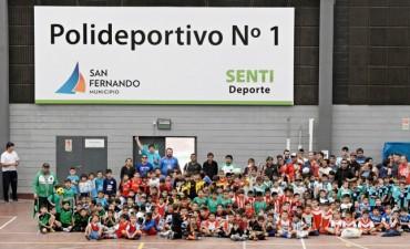 San Fernando lanzó el torneo de su Liga Municipal de Fútbol Infantil