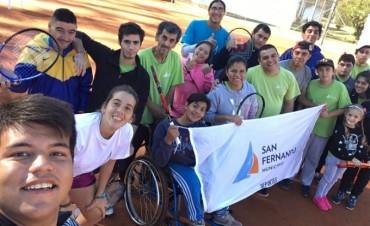 La Escuela de Tenis de San Fernando participó del Torneo Interescuelas zona Norte
