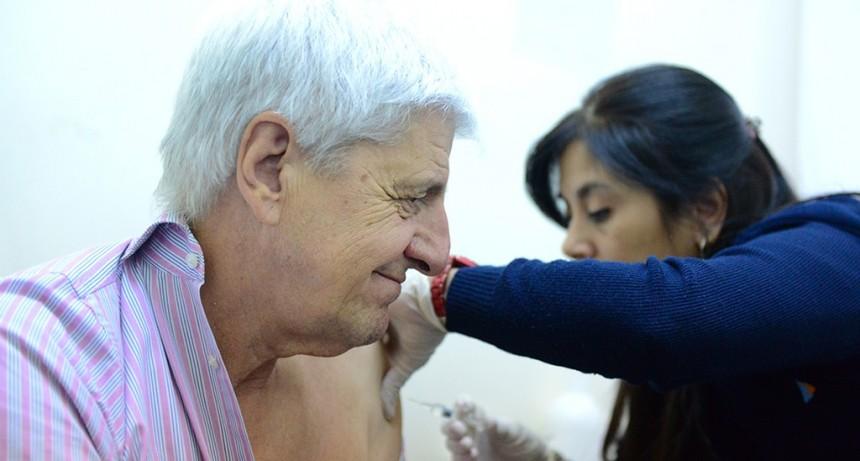 San Fernando lanzó la campaña de Vacunación Antigripal en toda la ciudad