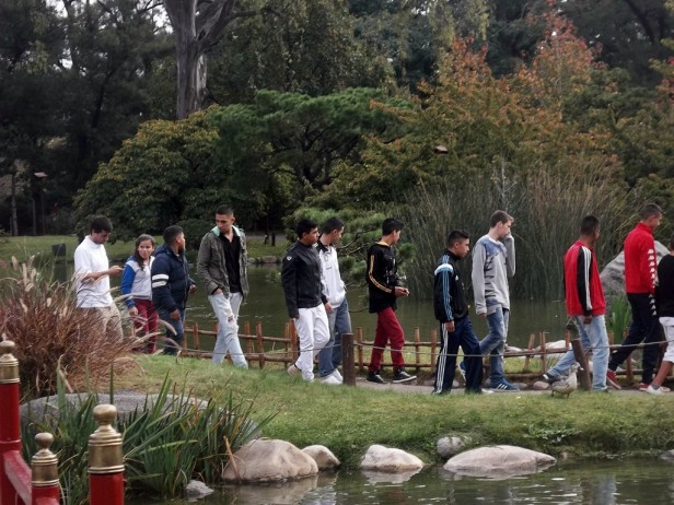 Los j venes del programa envi n de san fernando visitaron for Guarderia el jardin san fernando