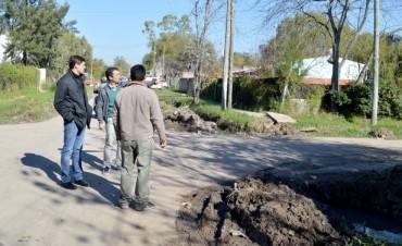 Avanzan las tareas de mantenimiento y rectificación del barrio Cebey