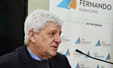 COMUNICADO DE PRENSA SOBRE LA SALUD DEL INTENDENTE DE SAN FERNANDO LUIS ANDREOTTI