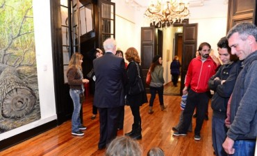 """Se inauguró la muestra """"Delta naturaleza viva"""" en los salones de la renovada Quinta El Ombú"""