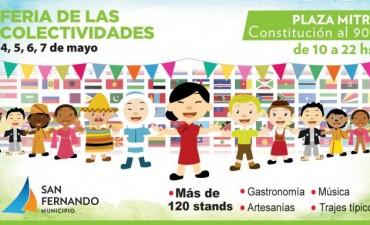 La Feria de las Colectividades vuelve a San Fernando