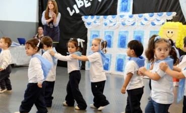 Los chicos de la UDI Villa del Carmen festejaron el Día de la Patria