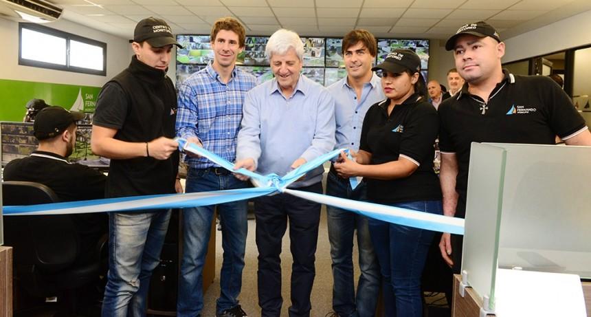 Andreotti inauguró la ampliación del Centro de Operaciones