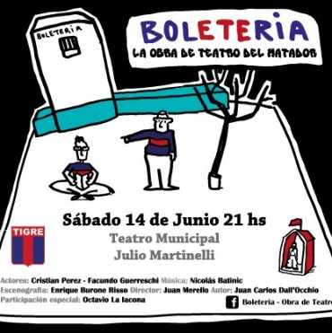 Teatro Martinelli: Cine, música y fútbol