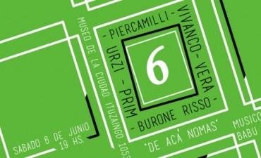 """Inauguración de la muestra artística """"6 De Acá Nomás"""" en el Museo de la Ciudad"""