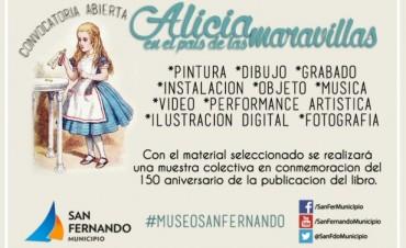 """El Museo de San Fernando convoca artistas para su próxima gran muestra: """"Alicia en el país de las maravillas"""""""