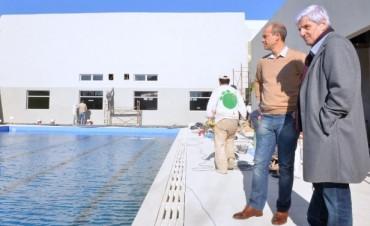 El Intendente Andreotti recorrió el Polideportivo N° 6, próximo a inaugurarse