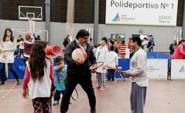 San Fernando realizó una jornada recreativa y deportiva para personas con discapacidad