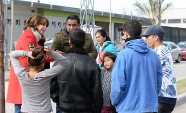 San Fernando llevó el Programa SOL al barrio Villa Hall