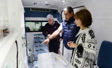 San Fernando sumó una nueva ambulancia especializada en neonatología