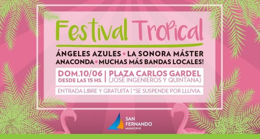 Llega una nueva edición del Festival Tropical de San Fernando