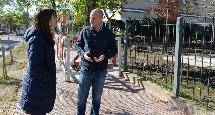 San Fernando avanza en la puesta en valor de espacios verdes